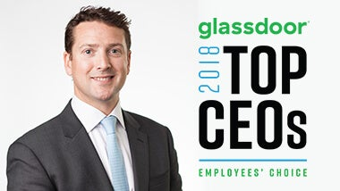 Resource Solutions' Oliver Harris named a Top CEO by Glassdoor