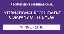 Recruitment International Awards ANZ 2018 logo