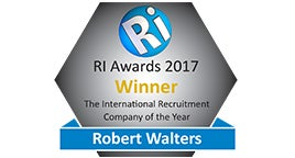 Recruitment International Awards 2017 logo