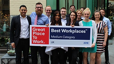 Robert Walters and Walters People voted Best Workplaces