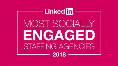 LinkedIn most socially engaged 2017