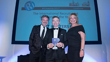 Best International Recruiter - 2017 Robert Walters