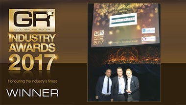 Global Recruiter Industry Awards 2017 logo